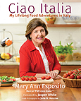 Mary Ann Esposito on Italia Front Cover